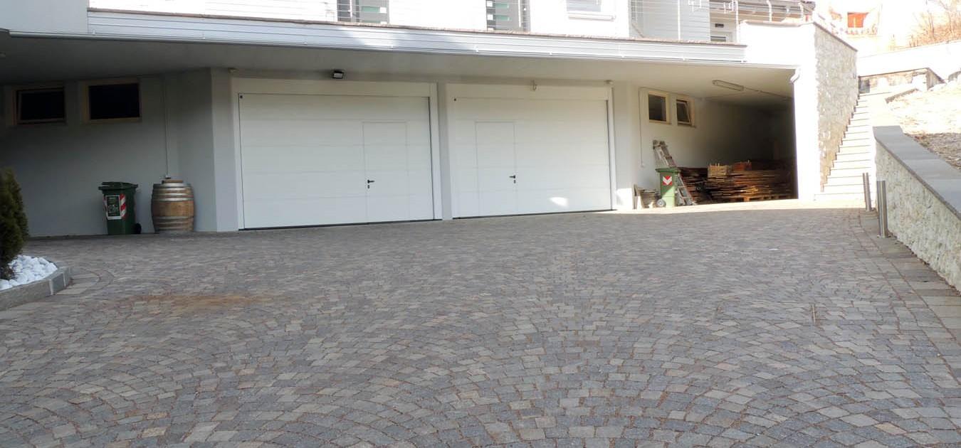 Rampe Garage In Porfido avi e fontana porfidi – il porfido grigio marrone